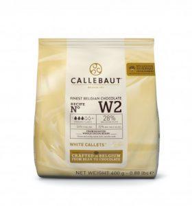 Biela čokoláda 28% Callebaut 400 g