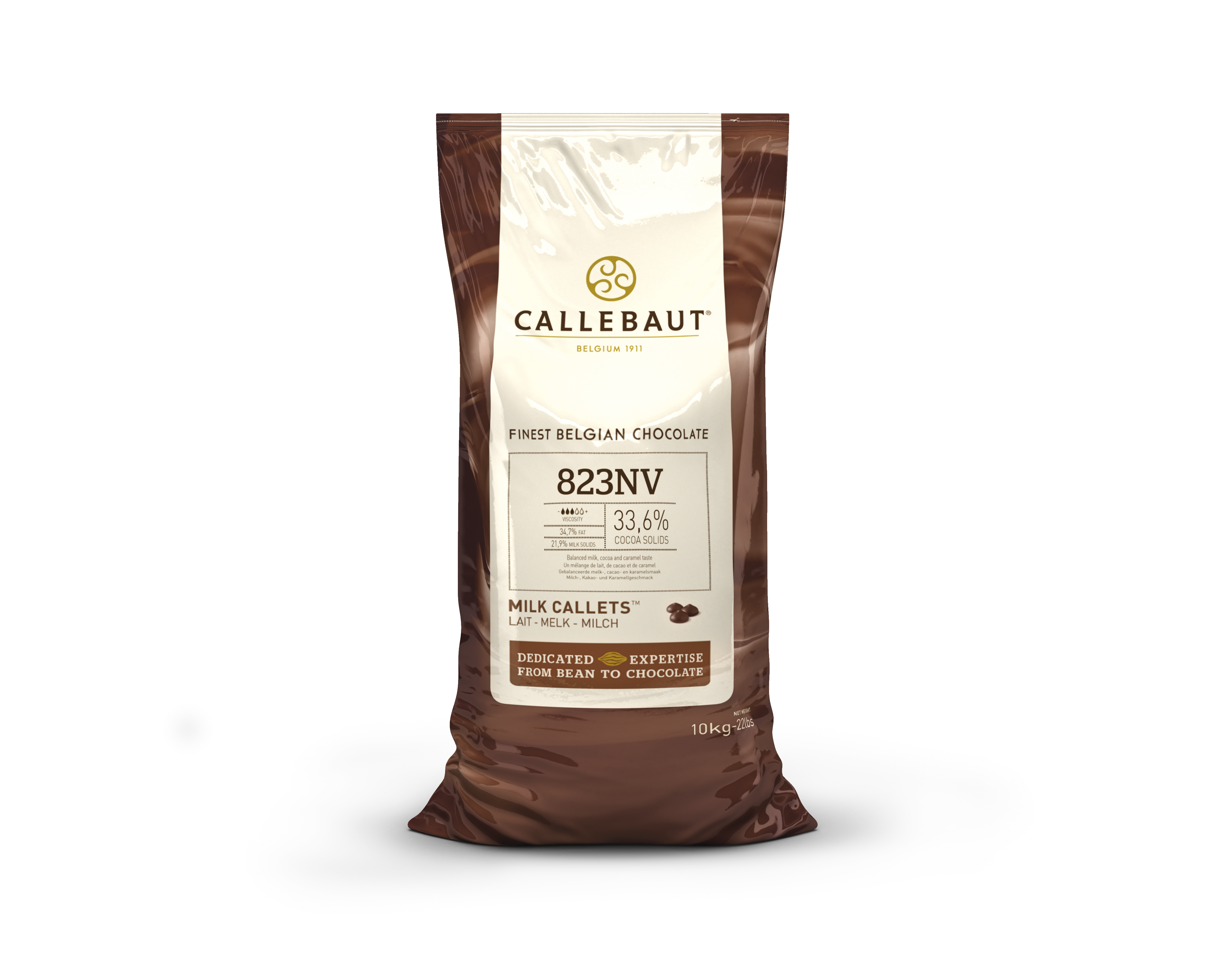 Mliečna čokoláda 33% Callebaut 10kg