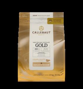 GOLD karamelová čokoláda Callebaut 2.5kg