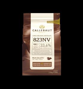 Mliečna čokoláda 33% Callebaut 2.5kg