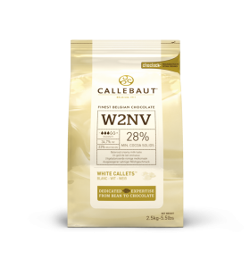 Biela čokoláda 28% Callebaut 2.5kg