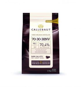 Horká čokoláda 70,4% Callebaut 2.5kg