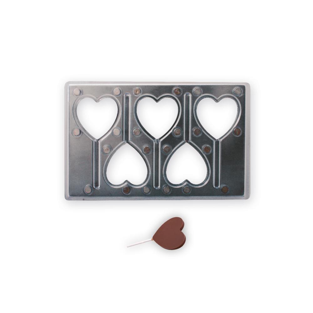 Magnetická forma lízatko srdce