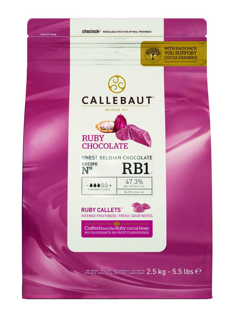 Ruby RB1 čokoláda Callebaut 2.5kg