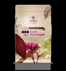 St. Domingo horká čokoláda 70% Callebaut 2.5kg