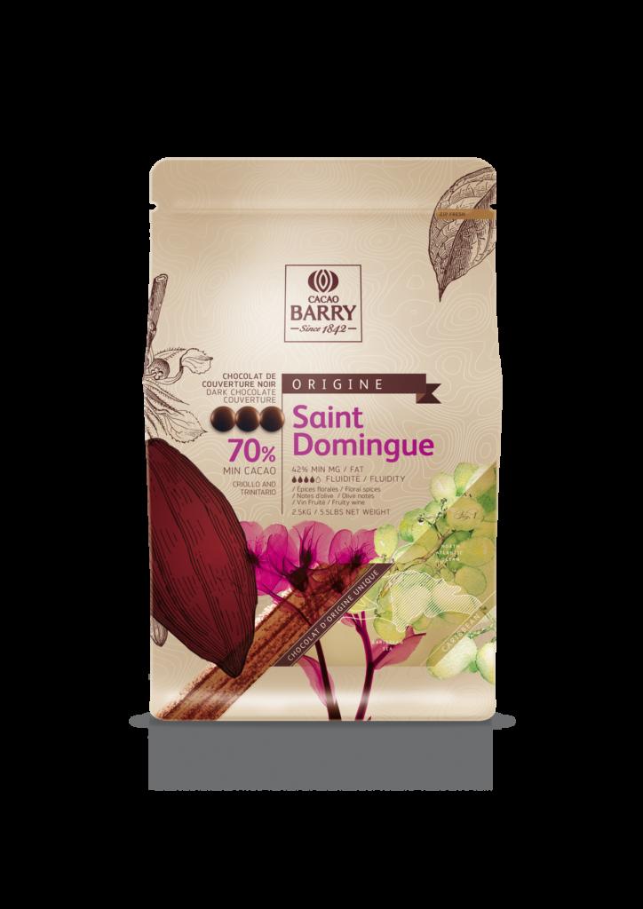 St. Domingo horká čokoláda 70% Cacao Barry 2.5kg