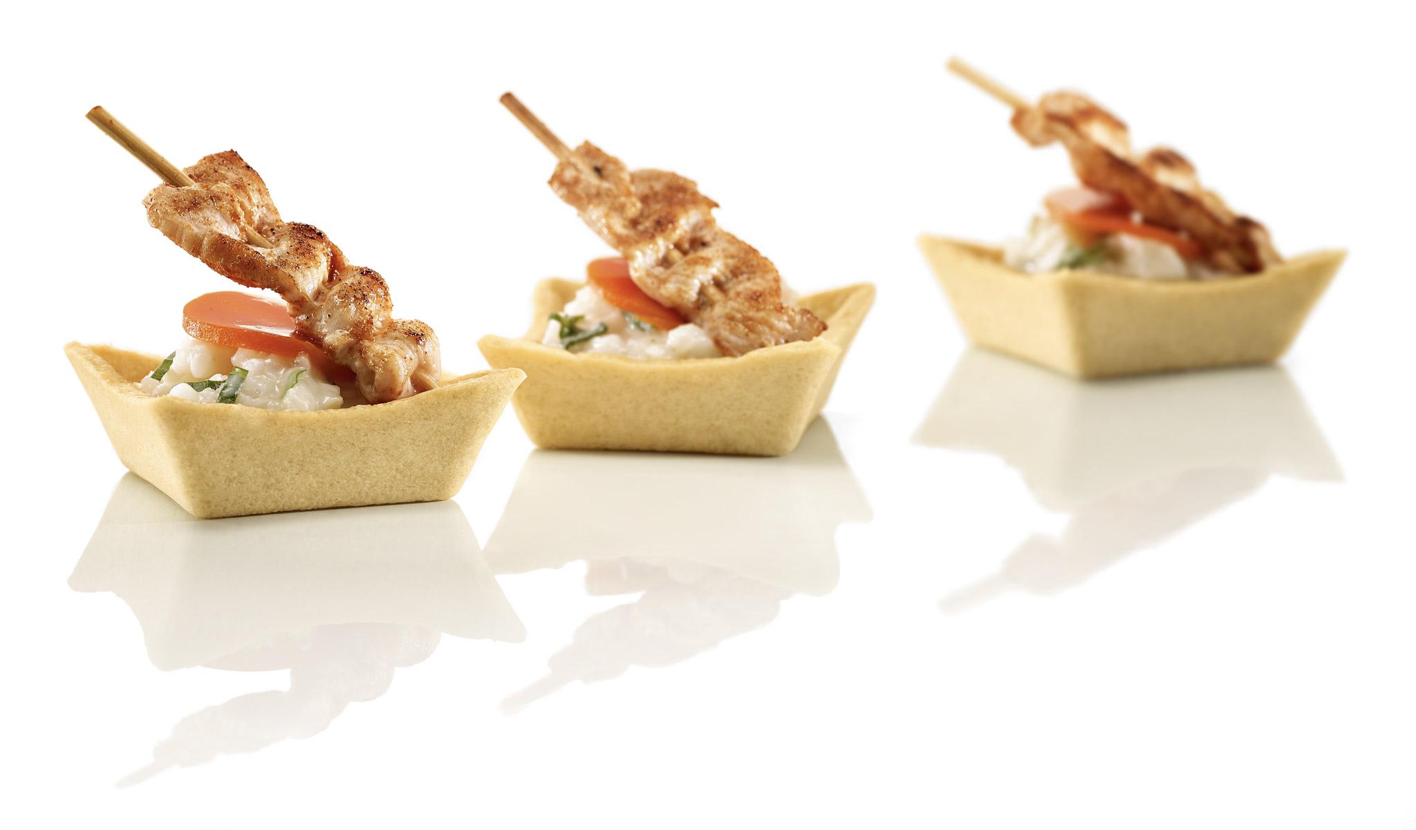 Elegance snack tartelettes 5,6 cm 2plata 36ks