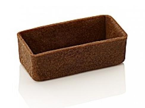 Tartelettes čokoládové 5,3 cm plato 30 ks