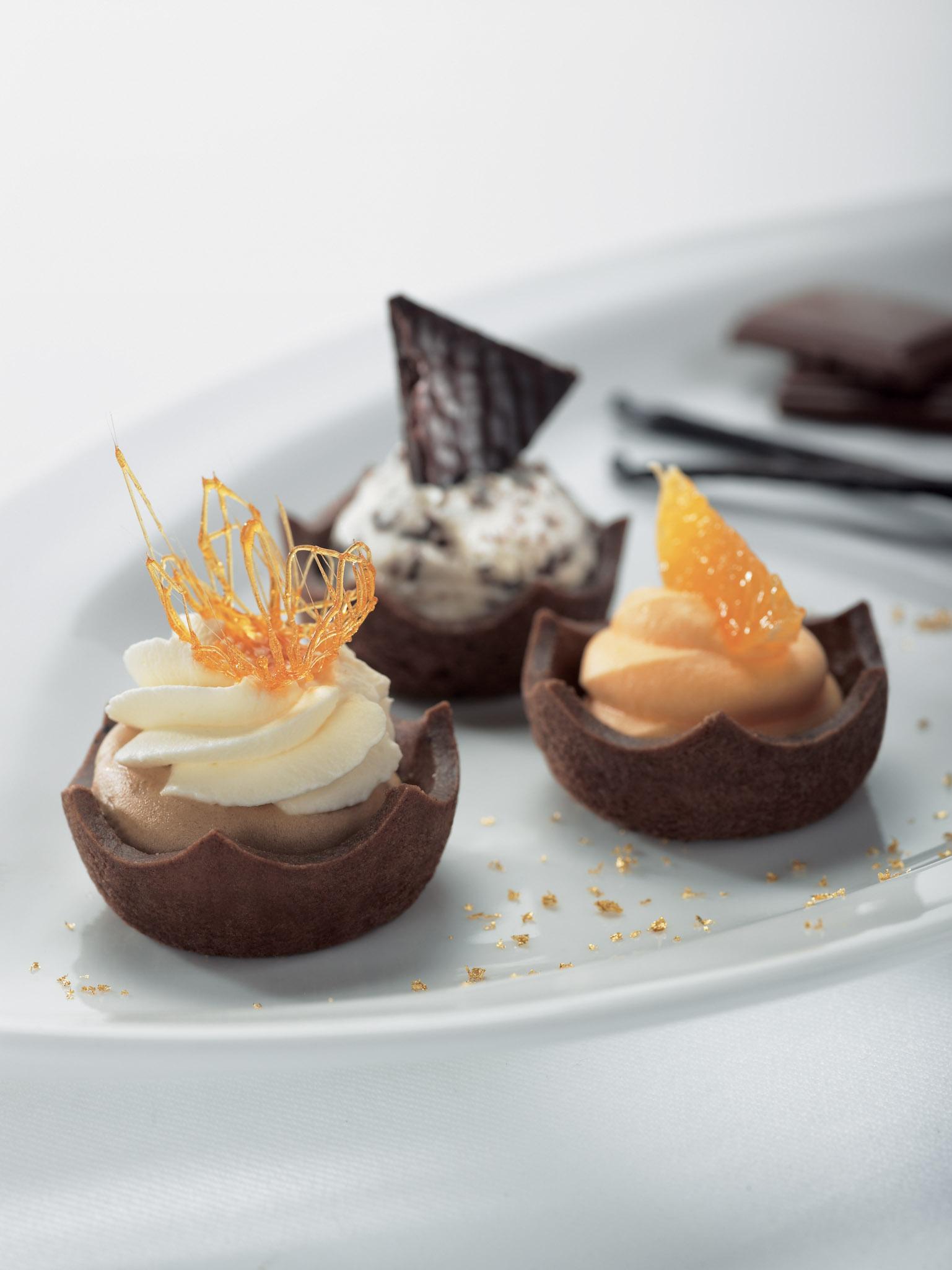 Royal čokoládové tartelettes 5 cm plato 23 ks