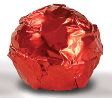 Fólia na truffle bordová
