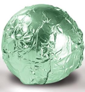 Fólia na truffle zelená pepermintová
