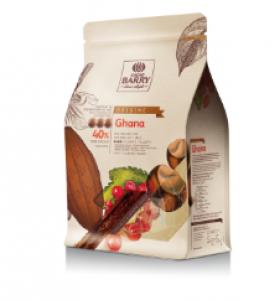 Ghana 40% mliečna čokoláda Cacao Barry 2.5kg
