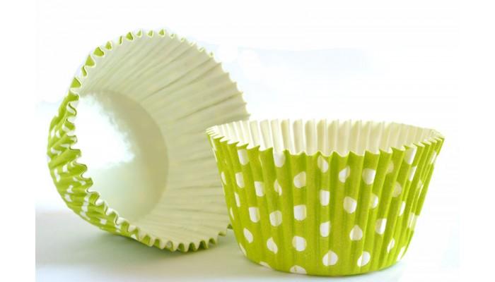 Košíčky na Cupcake zelené