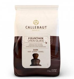 Čokoláda do fontán horká Callebaut 2.5kg