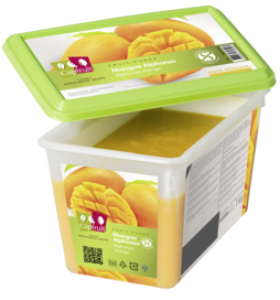 Mrazené pyré Mango
