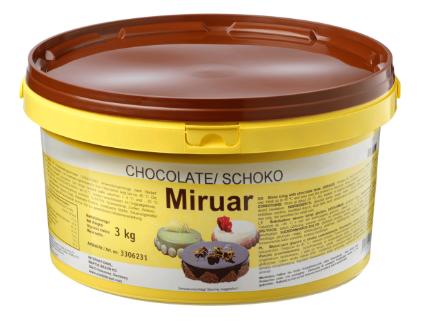 Miruar Cioccolato lesklá poleva 3kg