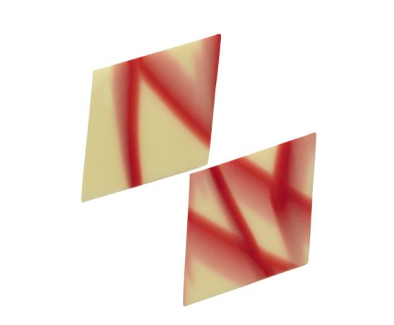 Moderno bielo-červené