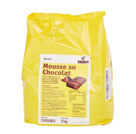 Mousse biela čokoláda 1kg