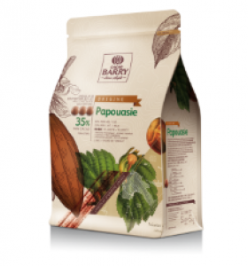 Papua-Nová Guinea 36% mliečna čokoláda 2,5kg