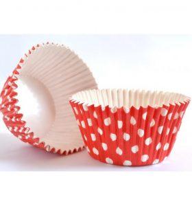 Košíčky na Cupcake červené