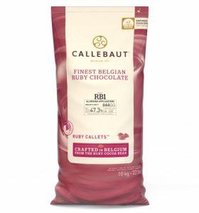 AKCIA 5+1 Ruby RB1 čokoláda Callebaut 10kg
