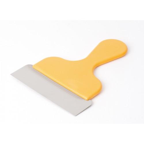 Špachtla  s rúčkou 15x17cm žltá