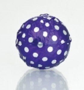 Fólia na truffle fialová s bodkami