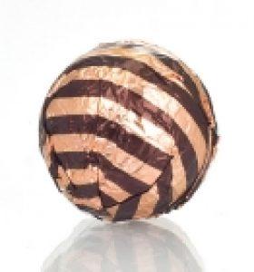 Fólia na truffle hnedá pásikavá