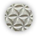 Metalická strieborná fabra v spreji