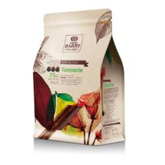 Tanzánia 75% horká čokoláda Cacao Barry 2.5kg