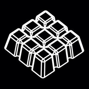 Flexipan 3D štvorce