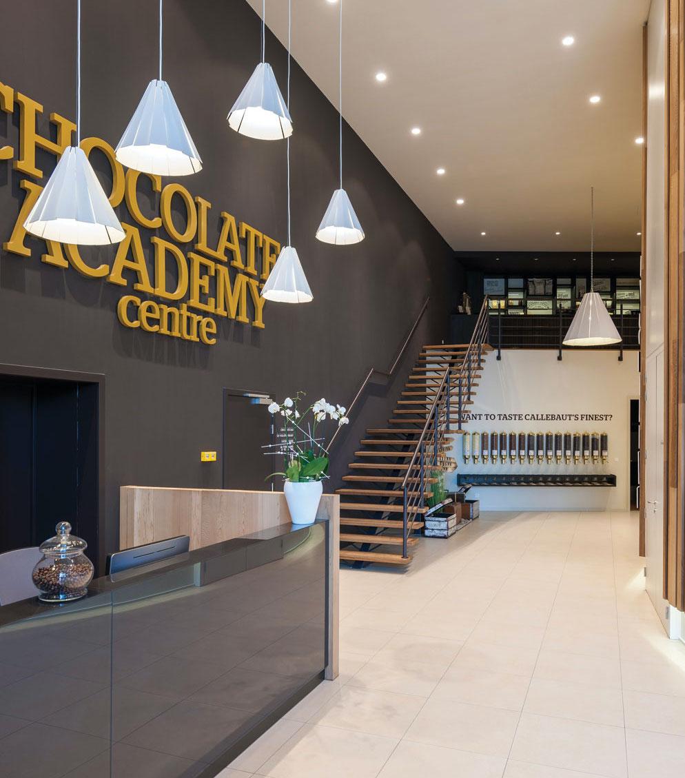 15. návšteva Akadémia Callebaut