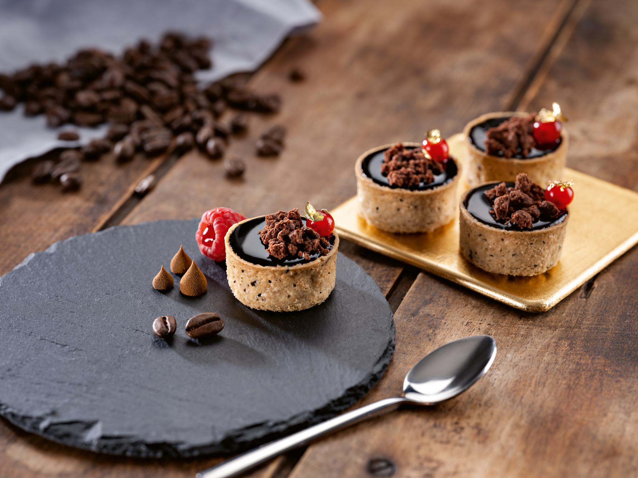 Tartelettes Coffee 3,8cm,40ks/plato